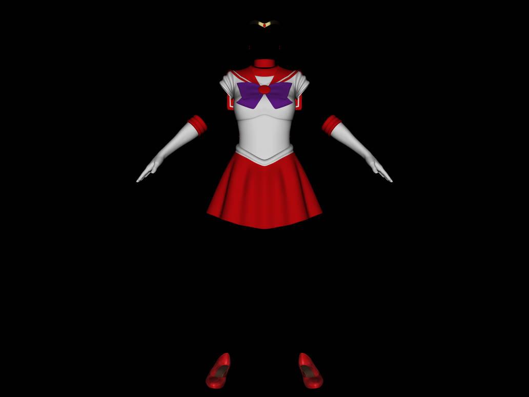 Sailor Mars Addon for Sailor Mercury G8F