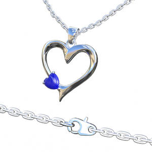 My Heart Necklace for Genesis 8 Female