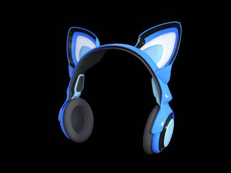 Sci-fi Cat Headphone for Genesis 8 Female