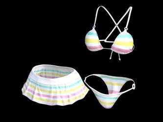 Fun Bikini for Genesis 8 Female