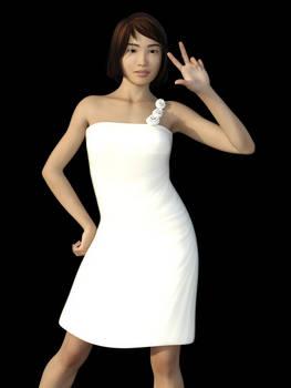 Dress A for Genesis 8 Female