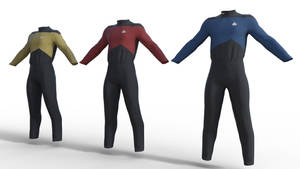 Star Trek TNG Uniform for Genesis 8 Male