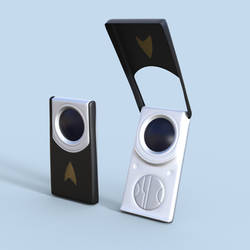 Star Trek Into Darkness Communicator - DAZ Studio