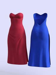 Dress E for Genesis 8 Female - DAZ Studio