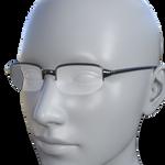 Teacher's Glasses for Genesis 8 Female DAZ Studio