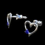 My Heart Stud Earrings - DAZ Studio by amyaimei