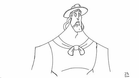 Disney Kronk In-between Animation Test by IanMaiguaPictures