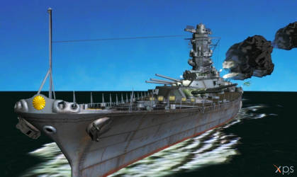 Yamato 1944(posable) from World of Warships Update by Haganeya