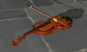 Violin for XPS by Haganeya