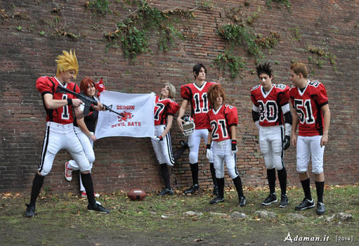 Eyeshield 21: Hiruma's Traning Session