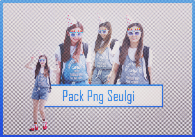 Pack Png Seulgi #34 by alwaysmile19