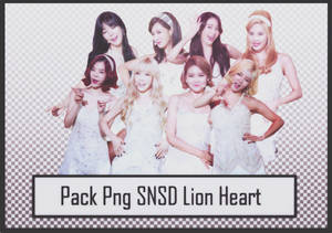 Pack Png SNSD Lion Heart #37