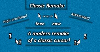 Classic Remake Cursor by Cyberdyne12489