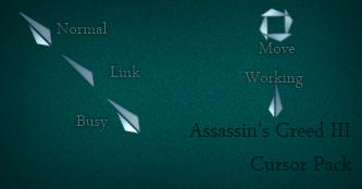 Assassin's Creed III Cursor by Cyberdyne12489