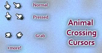 Animal Crossing Cursors by Cyberdyne12489