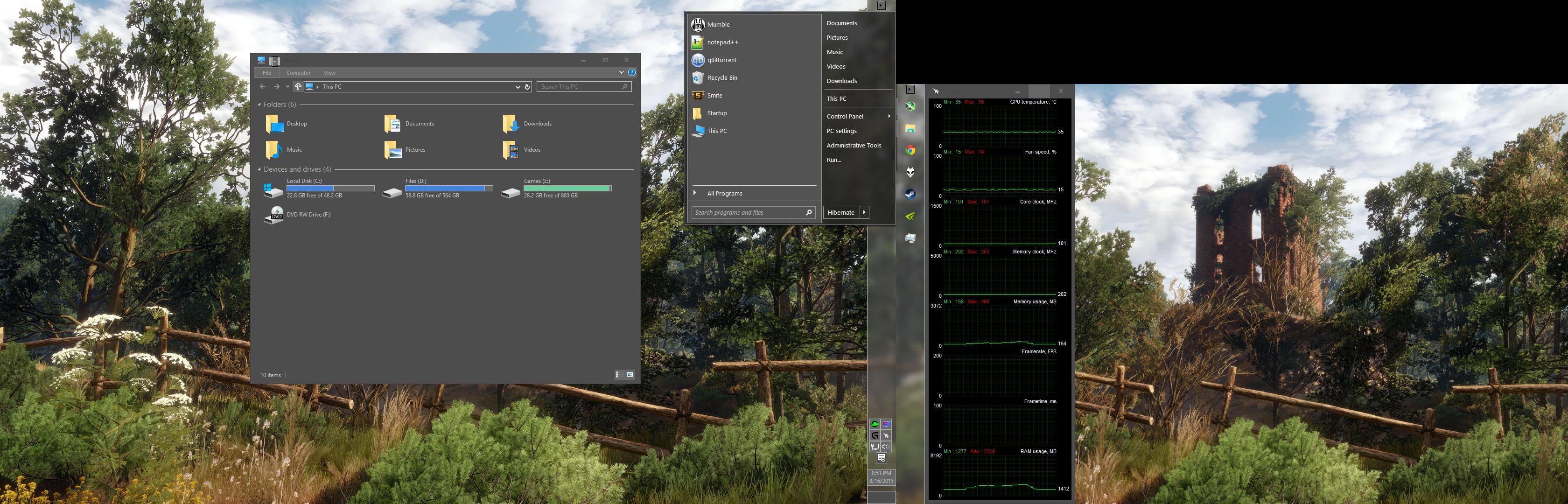 Windows 10 Dark Sudo Theme by Cyberdyne12489