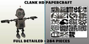 Ratchet and Clank - Clank Pepakura Papercraft (A3)