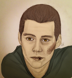 Stiles Stilinski Portrait by Luisaj