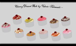 [MMD] Cherry Dessert Pack DL ~