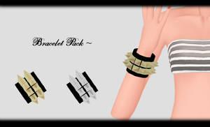 [MMD] Bracelet Pack DL ~