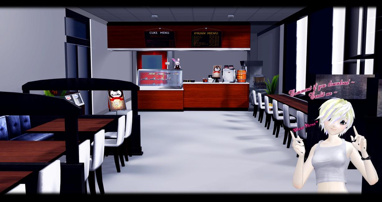 mmd cafe dl by o dsv o