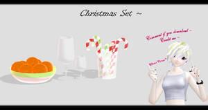 [MMD] Christmas Set DL ~ by o-DSV-o