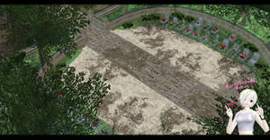 [MMD] Cemetery (Onechanmbara) DL ~ by o-DSV-o
