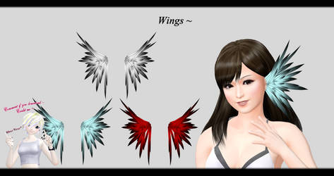 [MMD] Wings DL ~ by o-DSV-o
