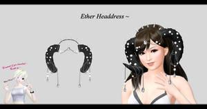 [MMD] Ether Headdress