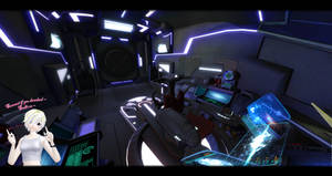 [MMD] Metroid Other M - Ship Interior DL ~