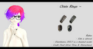 [MMD] Chain Rings DL ~