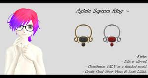 [MMD] Aglaia Septum Ring DL ~ by o-DSV-o