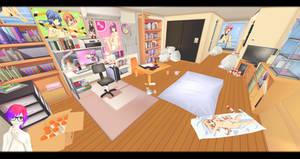 [MMD] Otaku Rooms DL ~