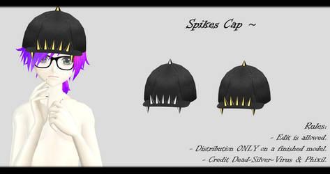 [MMD] Spikes Cap DL ~ by o-DSV-o