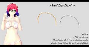 [MMD] Pearl Headband DL ~
