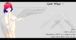 [MMD] Light Wings DL ~ by o-DSV-o