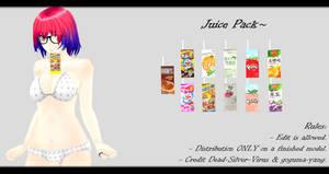 [MMD] Juice Pack DL ~ by o-DSV-o