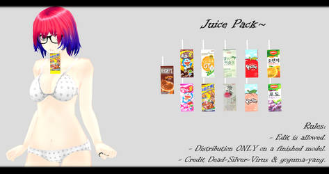 [MMD] Juice Pack DL ~
