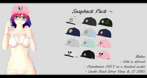 [MMD] Snapback Pack DL ~ by o-DSV-o
