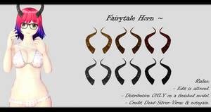 [MMD] Fairytale Horns DL ~