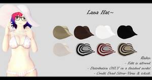 [MMD] Lana Hat DL ~