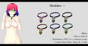 [MMD] Necklace DL ~