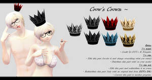 [MMD] Crows Crown DL ~