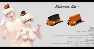 [MMD] Halloween Hat DL ~