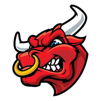 angry bull head logo -#main