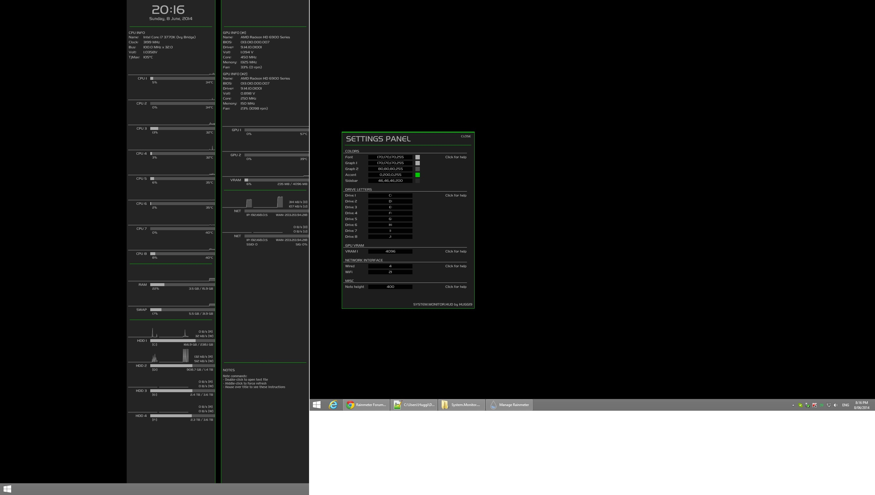 System.Monitor.HUD by Huggi9