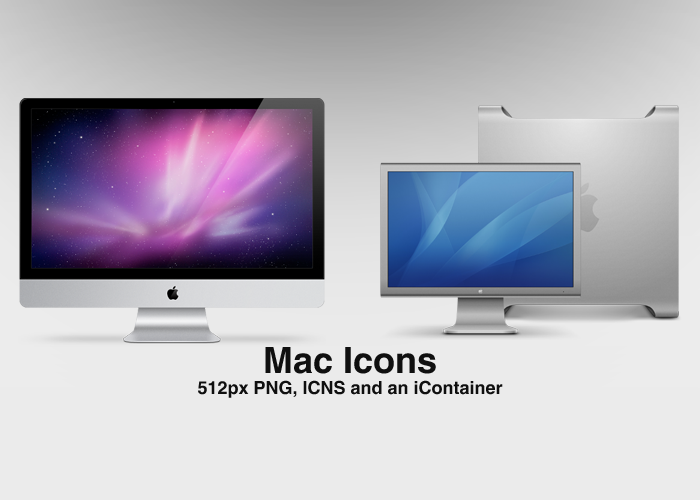 Mac Icons by SuiteDesign