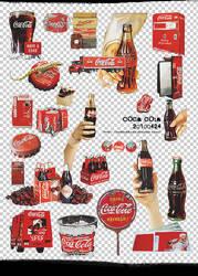 mochizuki's png coca cola by mochizukikaoru
