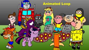 RIP Old Deviantart (Animated Loop)