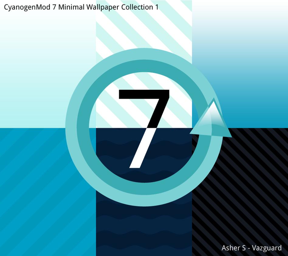 cm7 minimal wall collection 1 by vazguard on deviantart. Black Bedroom Furniture Sets. Home Design Ideas